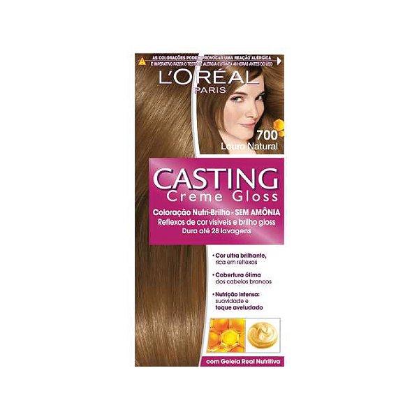 Coloração Casting Creme Gloss 700 Louro Natatural