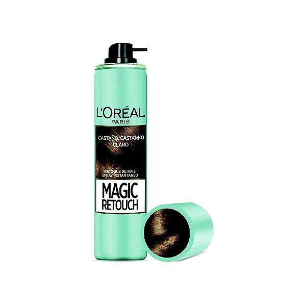 Coloração L'Oréal Magic Retouch Castanho Claro