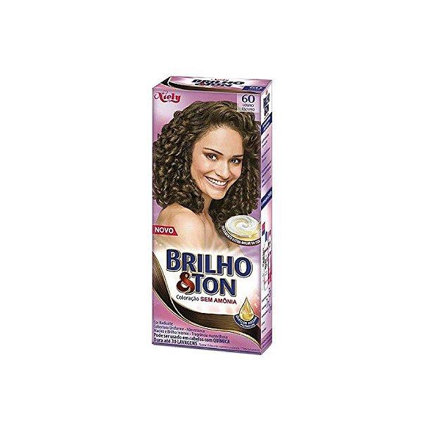 Coloração Niely Brilho&Ton 60 Louro Escuro