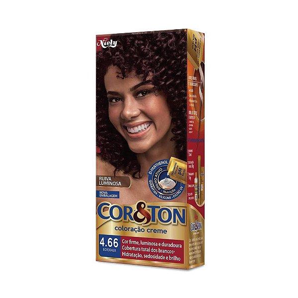 Coloração Cor&Ton Mini kit 4.66 Bordeaux