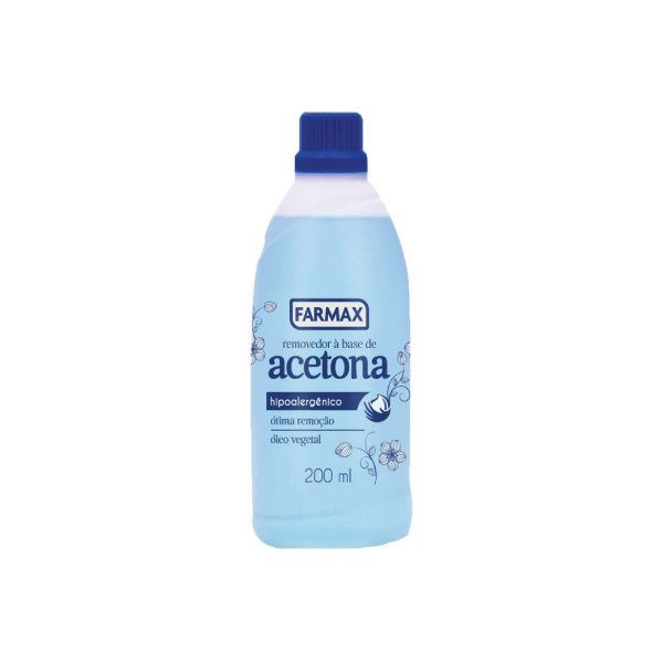 Removedor À Base de Acetona Farmax 200ml