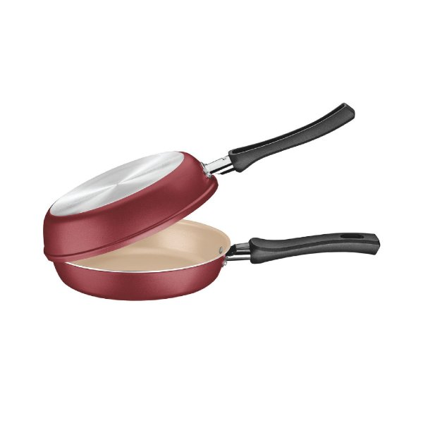 Omeleteira Tramontina Vermelha 20123/720 20cm