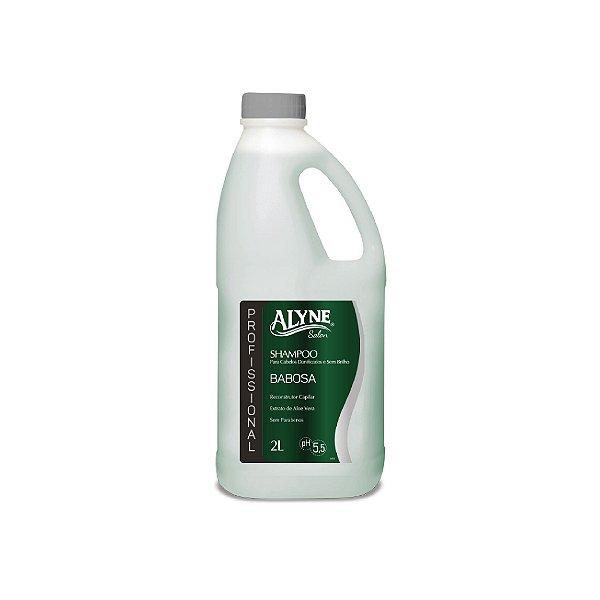 Shampoo Alyne Babosa para Cabelos Danificados 2L