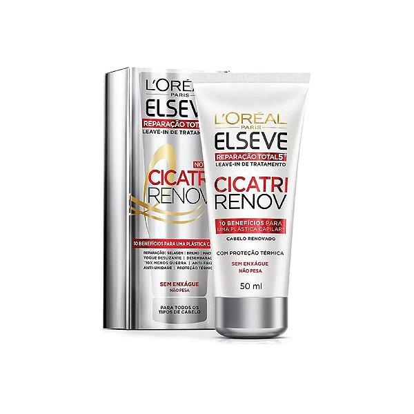 Leave-In Reparador Elseve Cicatri Renov 50ml