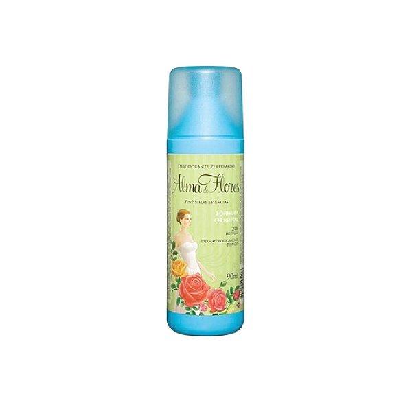 Desodorante Spray Alma de Flores Clássico 90ml
