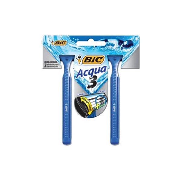 Aparelho de Barbear Bic Acqua 3 C/2
