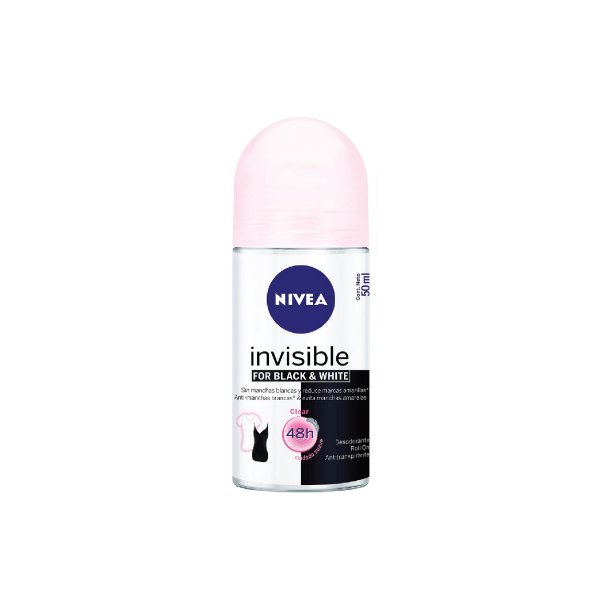 Desodorante Roll-On Nivea Invisible Black&White 50ml