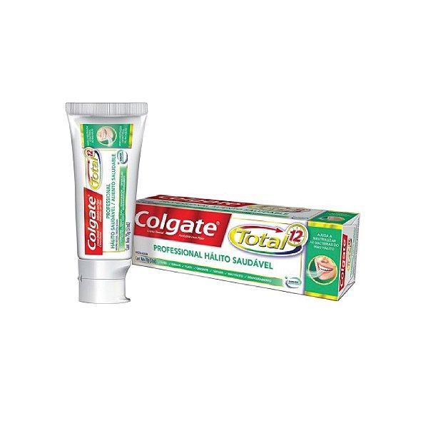 Creme Dental Colgate Total 12 Hálito Saudável 70g