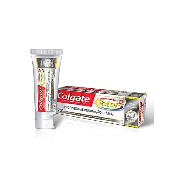 Creme Dental Colgate Total 12 Professional Reparação Diária 70g