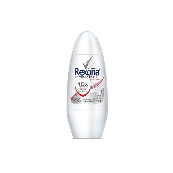 Desodorante Roll-On Rexona Women Antibacterial 50ml