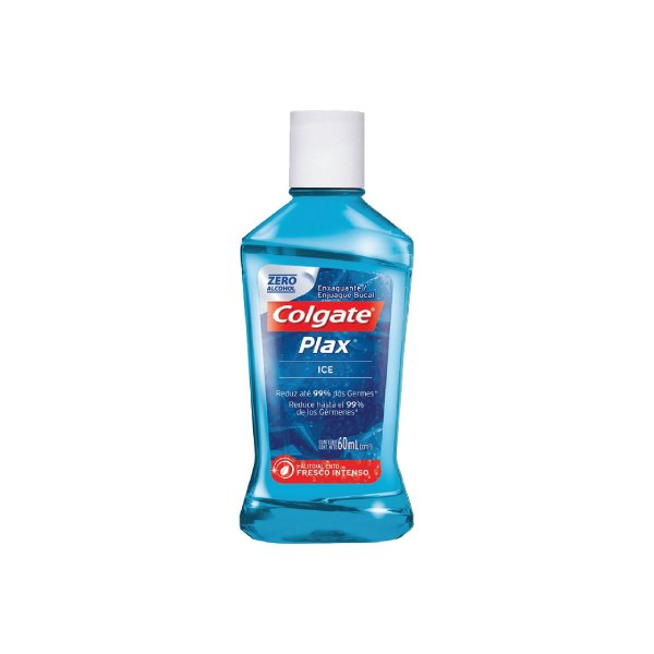 Enxaguante Bucal Colgate Plax Ice 60ml