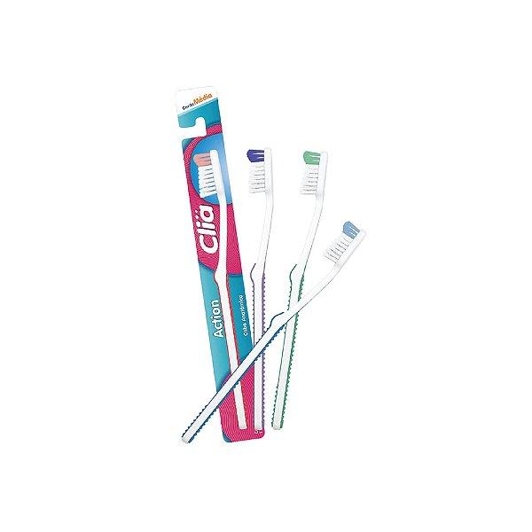 Escova Dental Clia Action Média