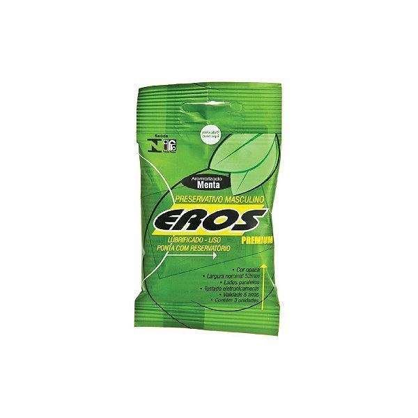 Preservativo Eros Menta C/3