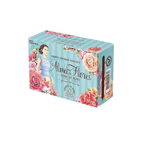 Sabonete Alma de Flores Herbal 130g