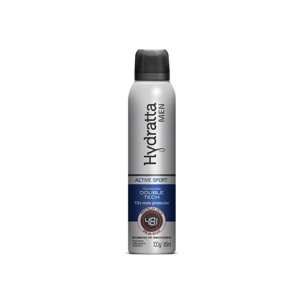 Desodorante Aerosol Francis Hydratta Active Sport 165ml