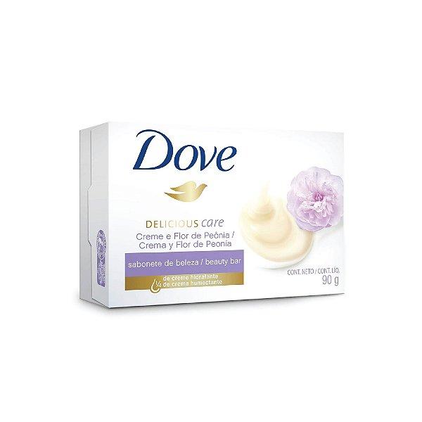 Sabonete Dove Creme Leite Flor de Peônia 90g
