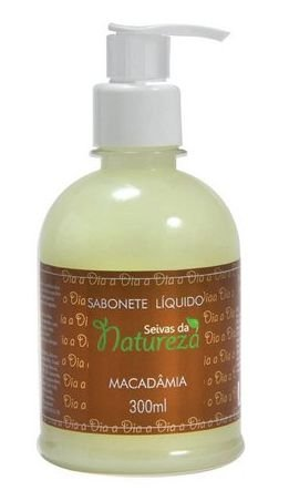 Sabonete Líquido Seivas da Natureza Macadâmia 300ml