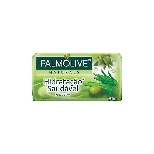 Sabonete Palmolive Suave Aloe E Oliva 150g