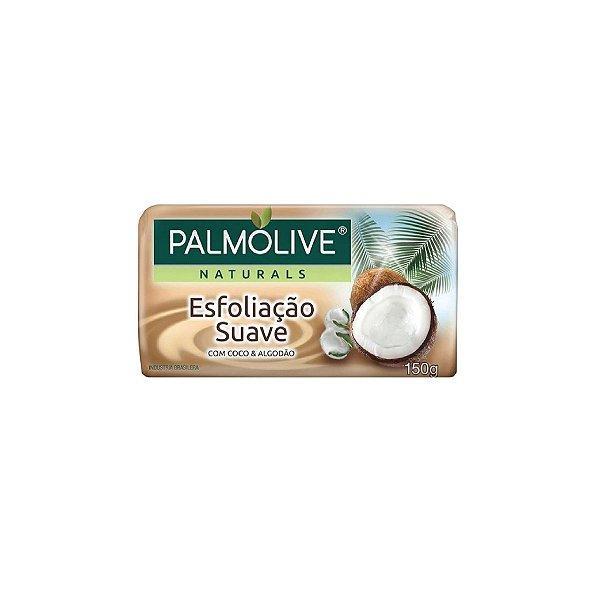 Sabonete Palmolive Esfoliação Suave Coco e Algodão 150g