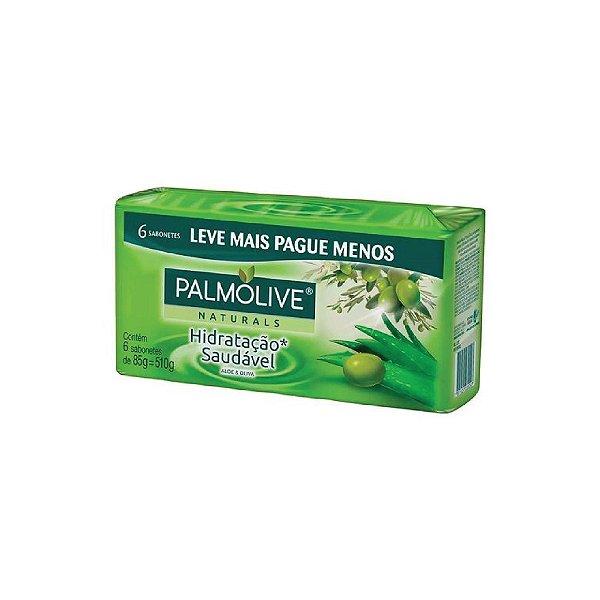 Sabonete Palmolive Naturals Hidratação Saudável Leve Mais Pague Menos 85g