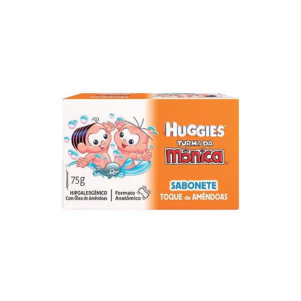 Sabonete Turma da Mônica Huggies Toque de Amêndoas 75g