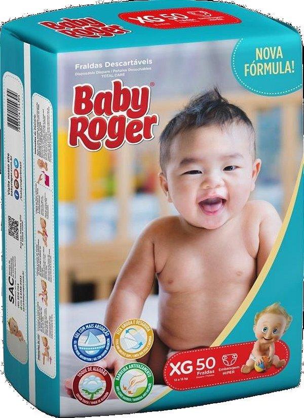 Fralda Descartável Baby Roger Hiper XG C/50