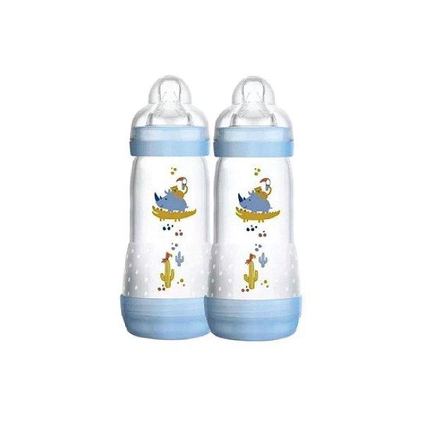 Kit Mamadeiras Mam First Bottle Boys com 2 Peças 260ml