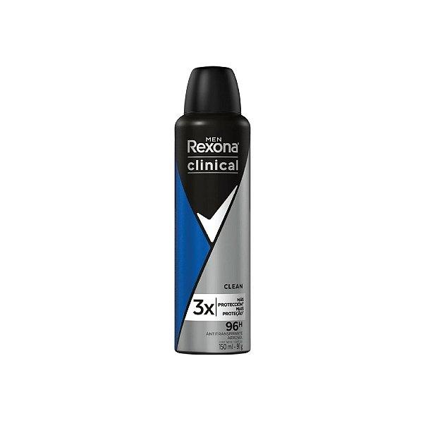Desodorante Aerosol Rexona Clinical 150ml