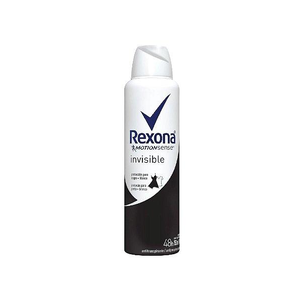 Desodorante Aerosol Rexona Invisible 150ml