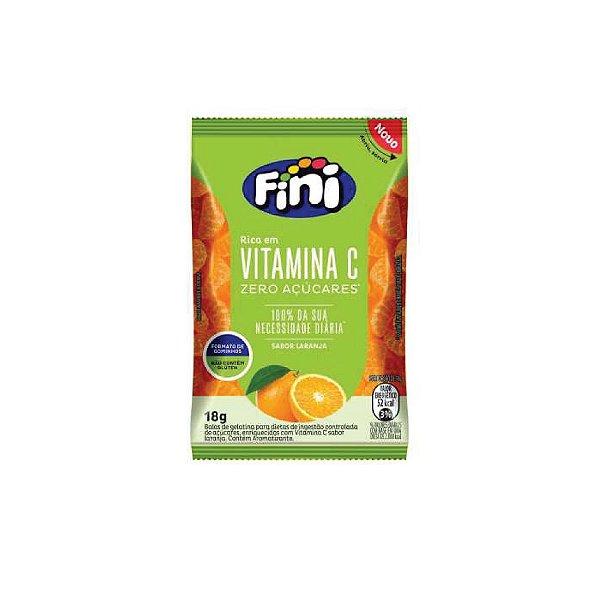 Bala Fini Diet Vitamina C Natural Sweets 18g