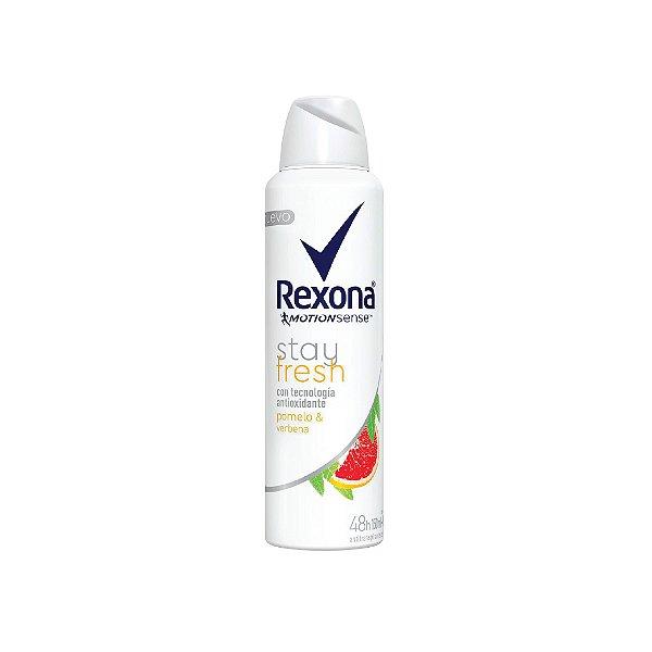 Desodorante Aerosol Rexona Stay Fresh Pomelo e Verbana 150ml