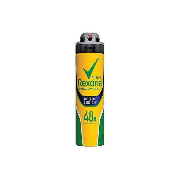Desodorante Aerosol Rexona Men Torcedor Fanático 150ml