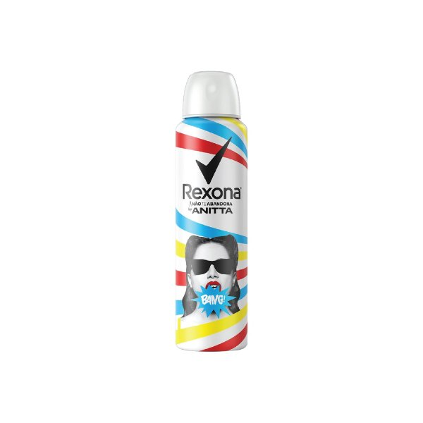 Desodorante Aerosol Rexona Anitta Bang 150ml