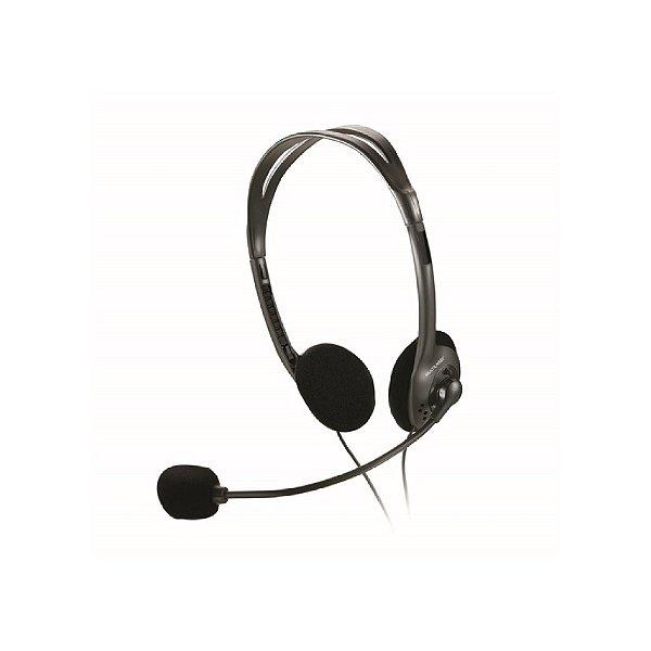 Headset Multilaser Com Fio P2 PH002 - Preto