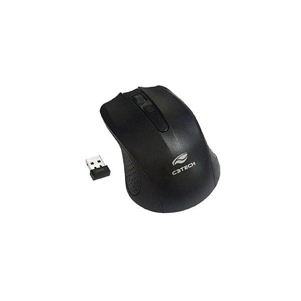 Mouse Sem Fio C3Tech M-W20BK - Preto