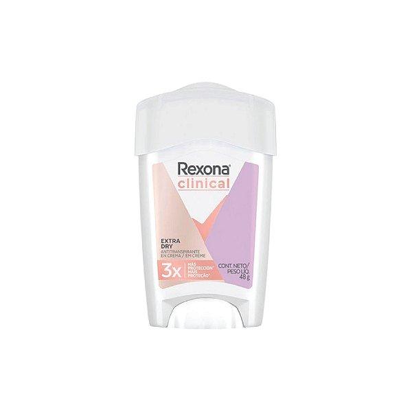 Desodorante Creme Rexona Clinical  Extra Dry 48g