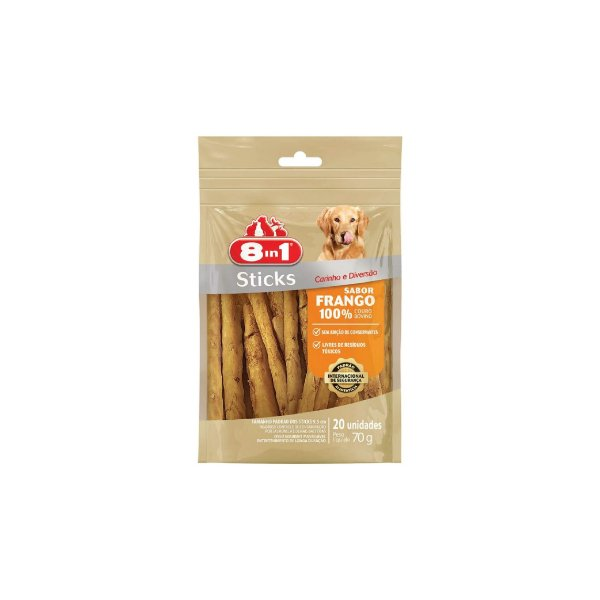 Sticks 8in1 Frango 70g