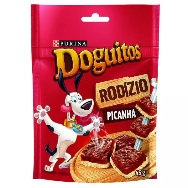 Petisco Purina Doguitos Picanha 45g