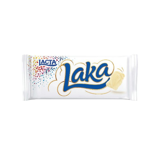 Barra de Chocolate Lacta Laka 90g
