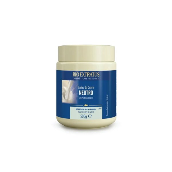 Creme de Tratamento Bio Extratus Neutro Proteínas do Leite 500g