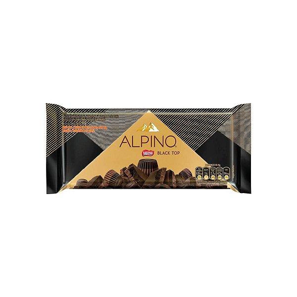 Barra de Chocolate Nestle Alpino Black Top 90g