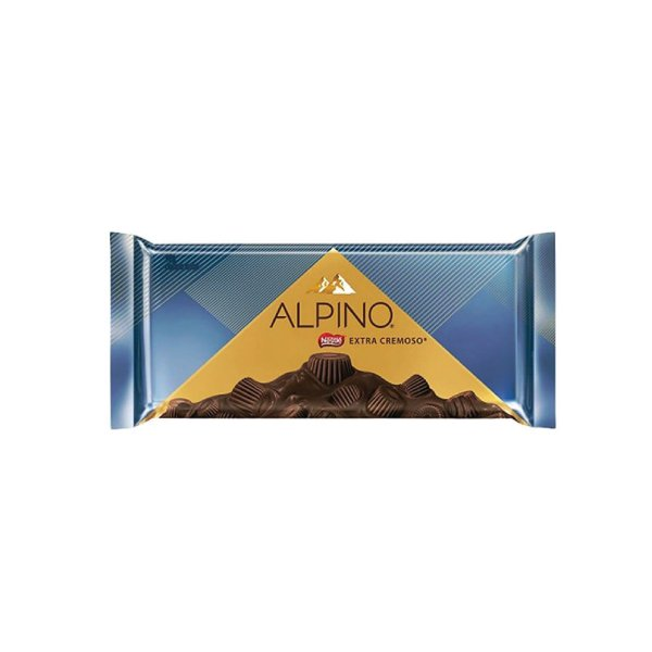 Barra de Chocolate Nestle Alpino Extra Cremoso 90g