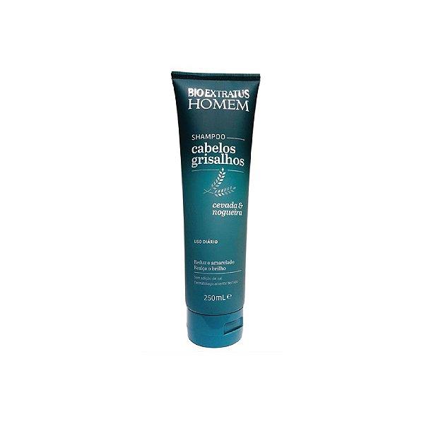 Shampoo Bio Extratus Homem Cabelos Grisalhos 250ml