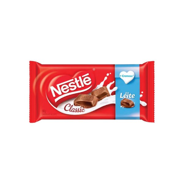 Barra de Chocolate Nestle ao Leite 90g