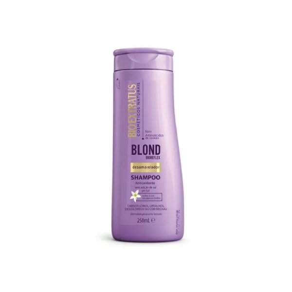 Shampoo Bio Extratus Blond Bioreflex Desamarelador 250ml
