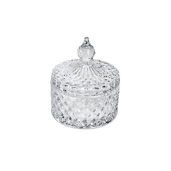 Bomboniere de Cristal Lyor Dublin Transparente 10,4x8,4cm 7121