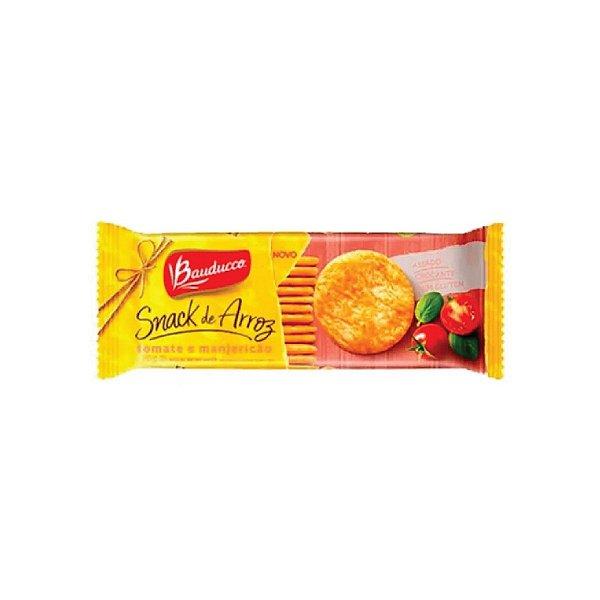 Snack Arroz Bauducco Tomate e Manjericão 100g
