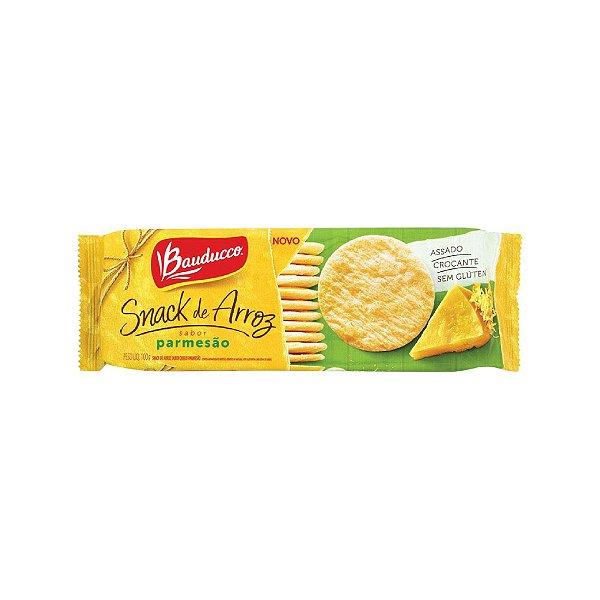 Snack Arroz Bauducco Parmesão 100g