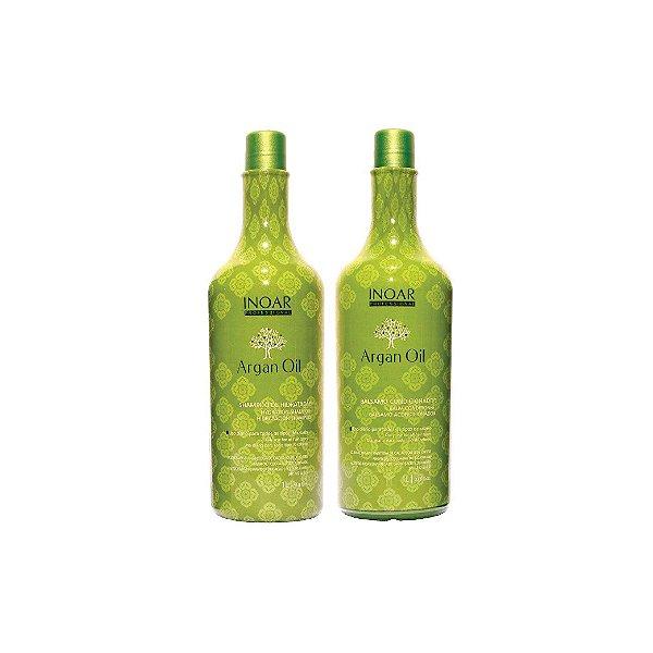 Kit Shampoo e Condicionador Inoar Argan Oil 1L