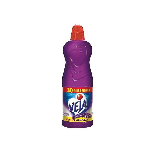 Limpador Veja Perfumes Lavanda 30% de Desconto 1L